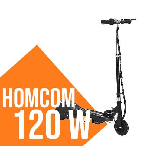 Monopattino elettrico Homcom 120 W
