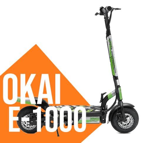 Monopattino elettrico OKAI E-1000