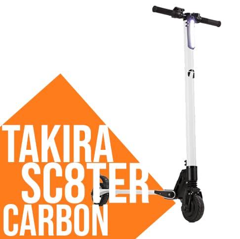Monopattino elettrico Takira Sc8ter Carbon