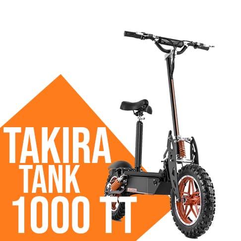 Monpattino elettrico Takira Tank 1000 TT