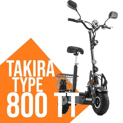 Monpattino elettrico Takira Tank 800 TT