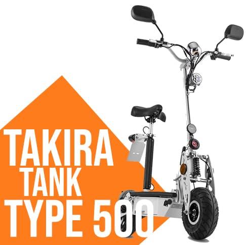 Monpattino elettrico Takira Tank Type 500 TT