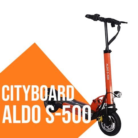 Monopattino elettrico 500 Watt Cityboard aldo S500